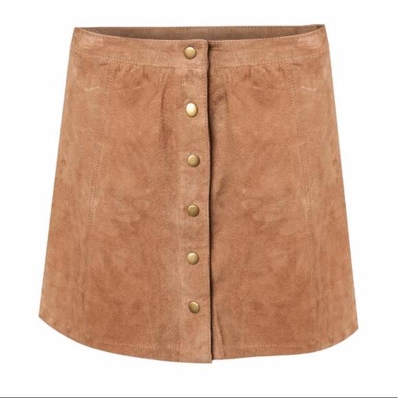 c854fa8fb6b Dex Skirts | Aline Mini Vegan Suede Skirt Nwot | Poshmark